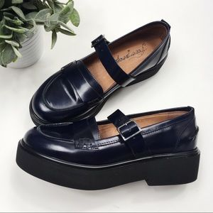 Free People Shoes - NWOB Free People Pearl Street chunky Penny loafer